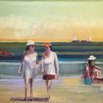 """""""Sisterhood"""", 36in x 36in, Oil Paint on Canvas"""