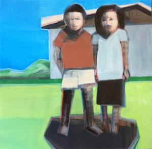 Artist Shilo Ratner_Work in Progress_12inx12in Panel