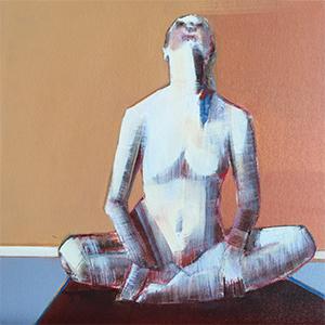 Artist: Shilo Ratner, Light of Love, 12inx12in, oil on panel