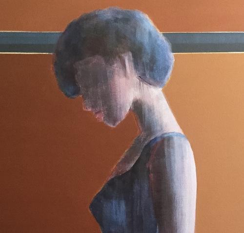"""""""Breathe"""", 48"""" x 48"""", Acrylic on Canvas"""
