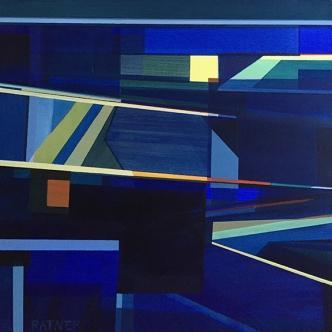 "Littoral No 329, 20 x 20"", Acrylic on Canvas"